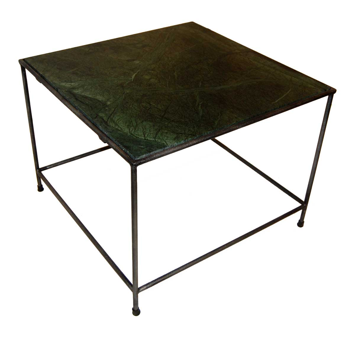 TRADEMARK LIVING Sofabord med grøn marmorplade