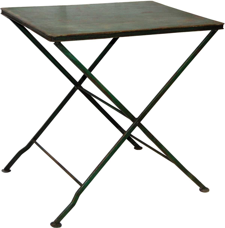 Image of   TRADEMARK LIVING Cafébord i klassisk stil - flaskegrøn