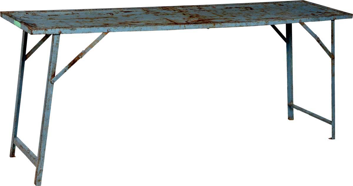 Billede af Trademark Living Gammelt cool konsolbord - blåt