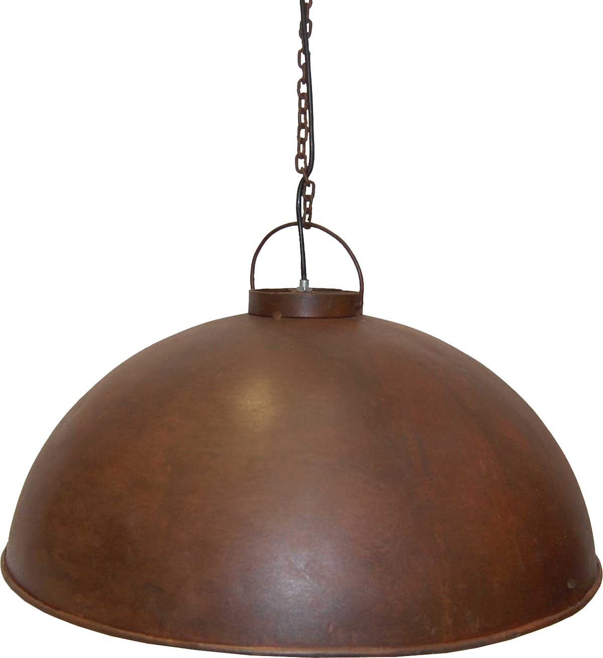 Image of   TRADEMARK LIVING Loftpendel i fabriksstil - rusty finish