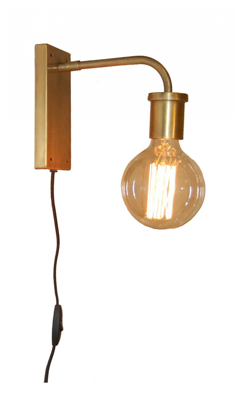 Billede af TRADEMARK LIVING Væglampe - messing