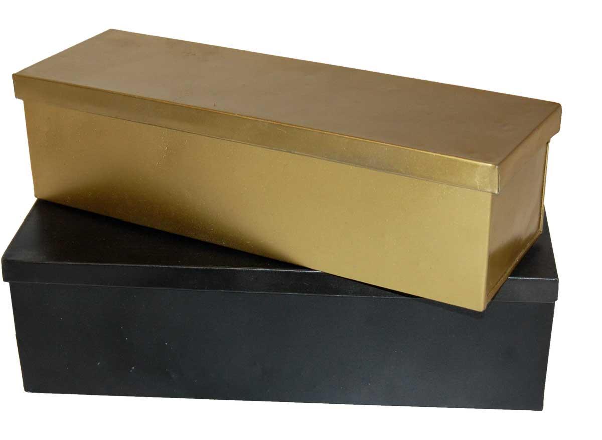 Billede af Trademark Living Opbevarings kasser i 2 størrelser