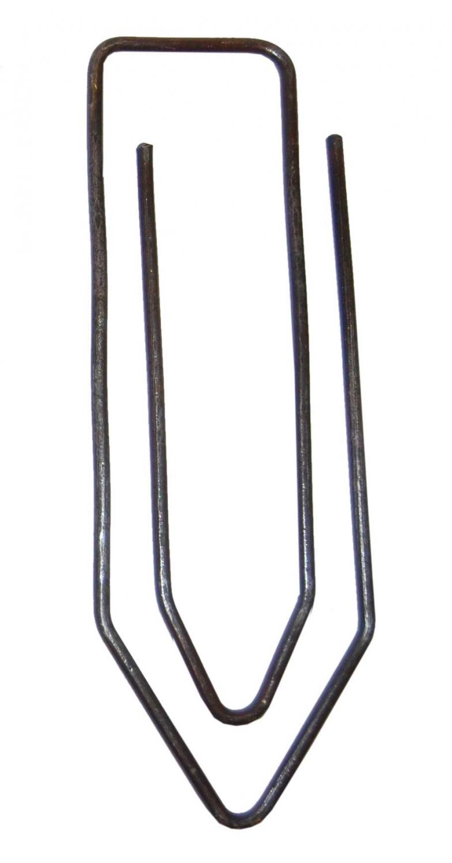 TRADEMARK LIVING Mega clips - rå jern