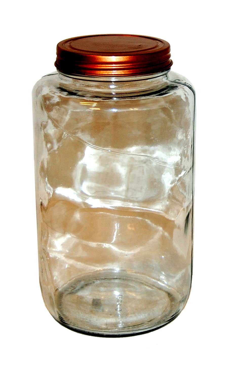 Trademark living glaskrukke med låg - large