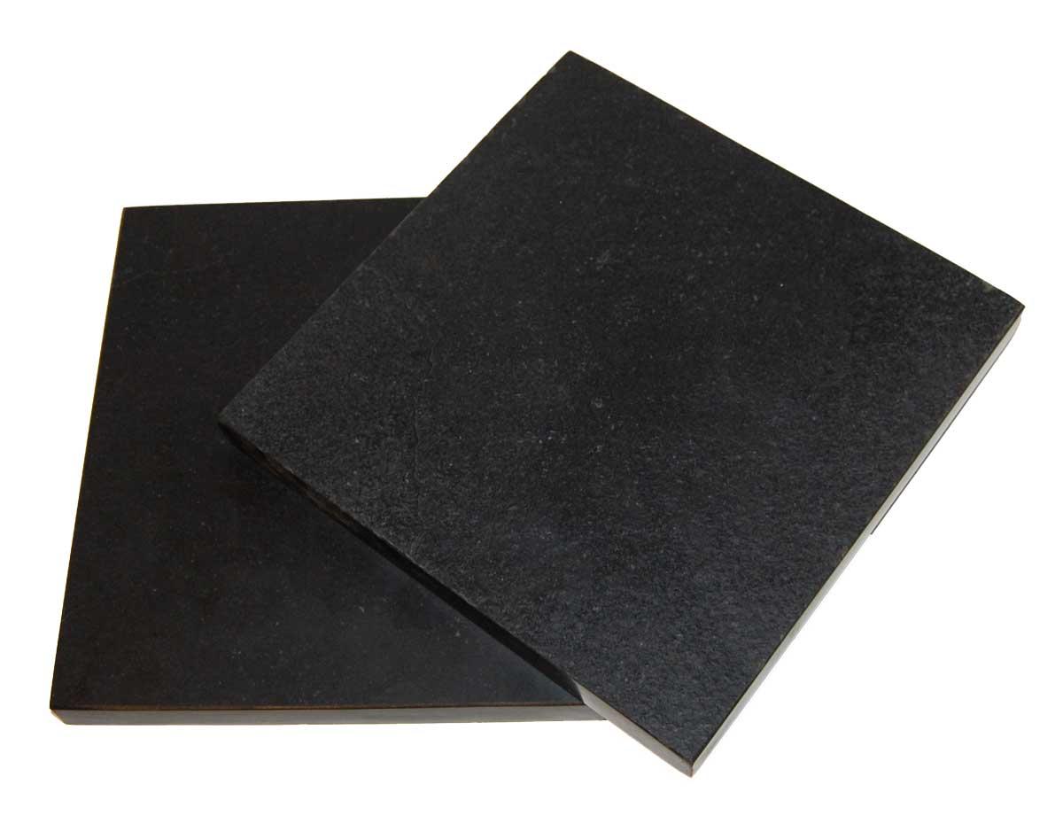 Trademark living skærebræt i sort sten - small