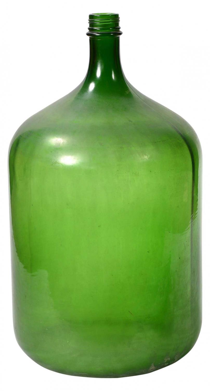 Billede af Trademark Living Glasflaske, gammel og stor - mix farver