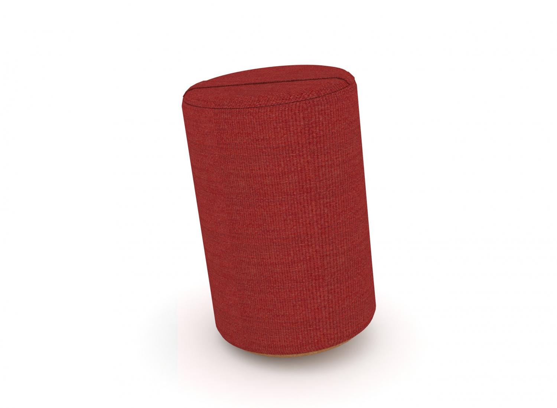 Billede af JENSENPLUS K2 puf, ergonomisk - Rød