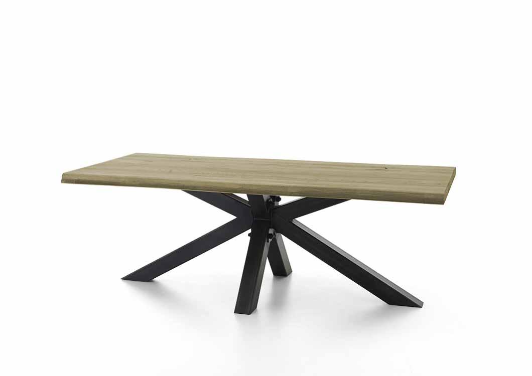 bodahl – Bodahl chicago plankebord - sand egetræ m. metalben 240 x 100 cm. fra boboonline.dk