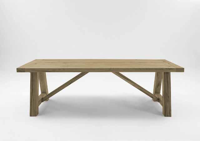 Billede af Bodahl Nantes plankebord - Sand 180 x 100 cm