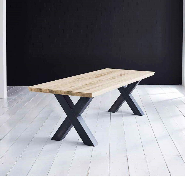 BODAHL Concept 4 You plankebord - desert eg m. schweizerkant og Freja-ben, m. udtræk 6 cm 260 x 110 cm