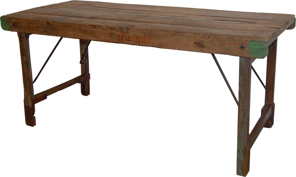 Image of   TRADEMARK LIVING Spisebord i træ - gammelt