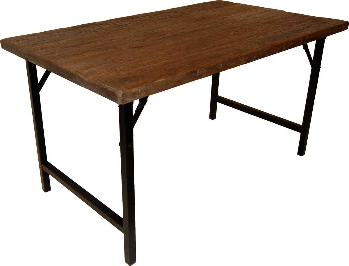 trademark living Trademark living spisebord med smuk bordplade på boboonline.dk