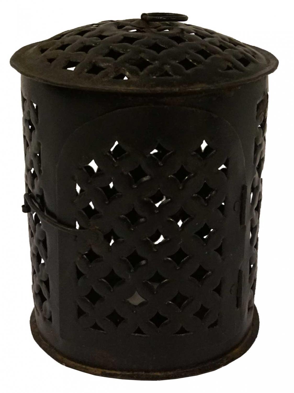 Billede af TRADEMARK LIVING Skøn lanterne til fyrfadslys - antiksort