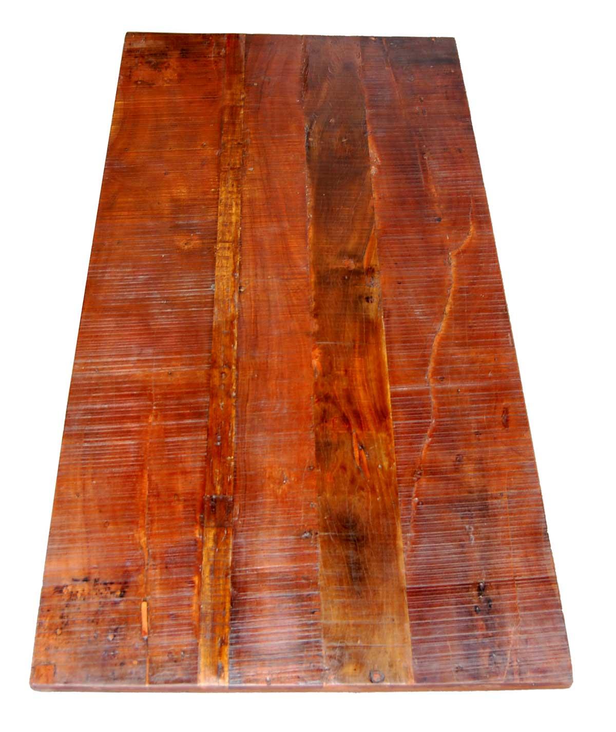 Trademark Living Bordplade af genbrugstræ - lang