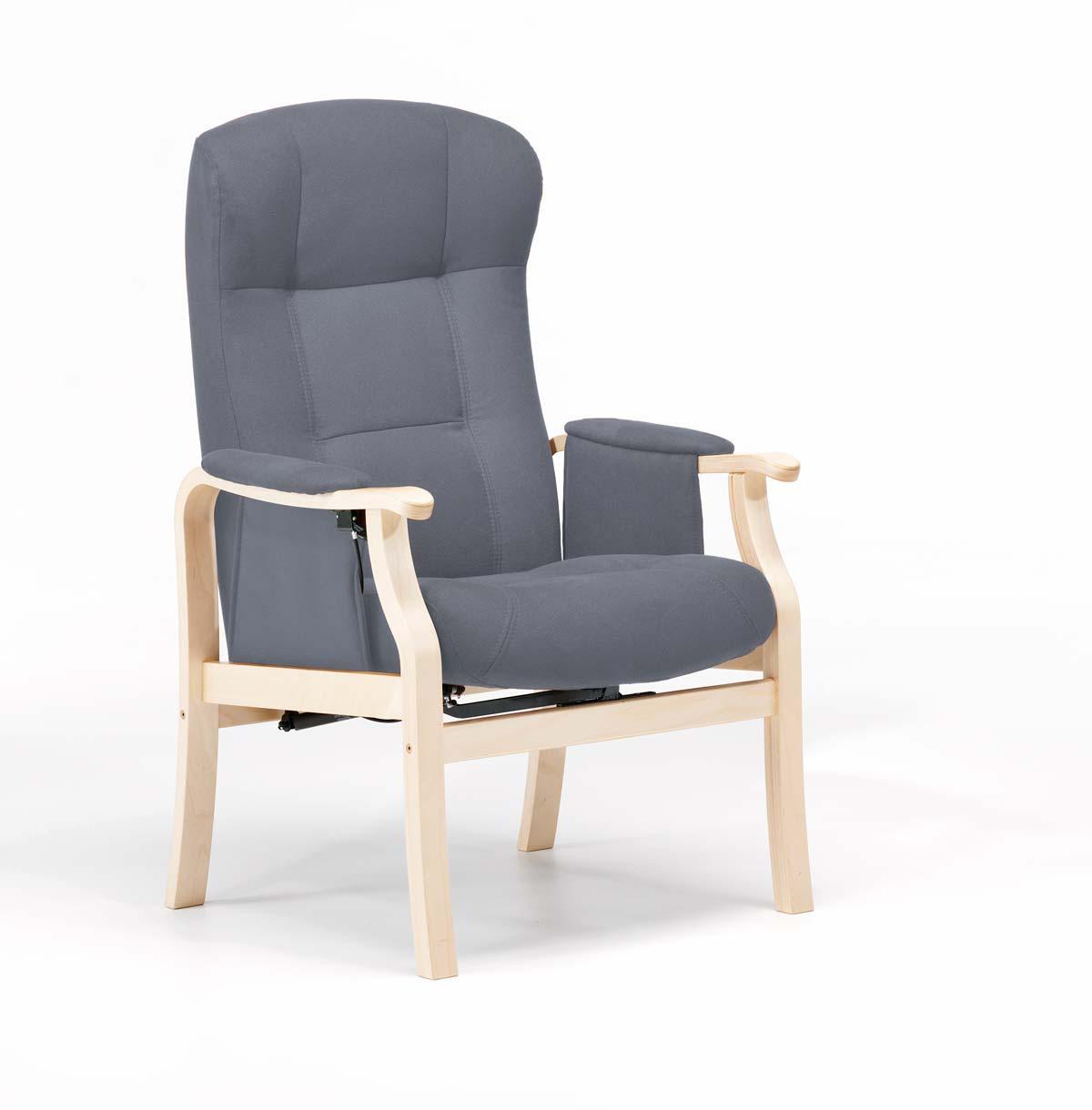 NORDIC-C Sorø Standard seniorstol, eksl. skammel - grafitgrå