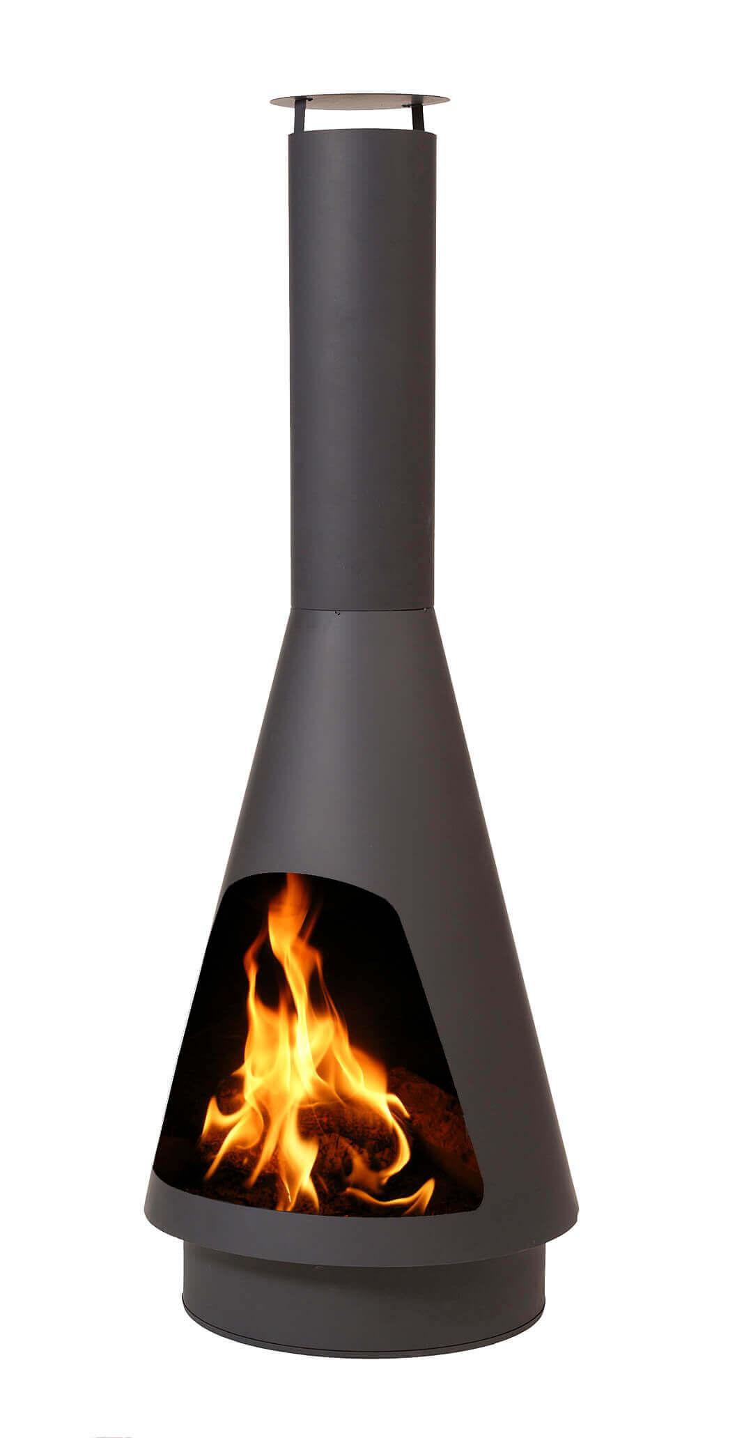 Heat la luz udepejs - sort stål, (flere størrelser) 160 cm fra heat fra boboonline.dk
